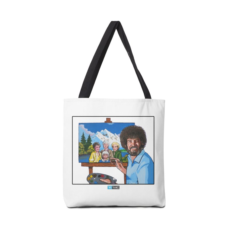 the Golden Girls get their portrait painted Accessories Tote Bag Bag by Two Thangs Artist Shop