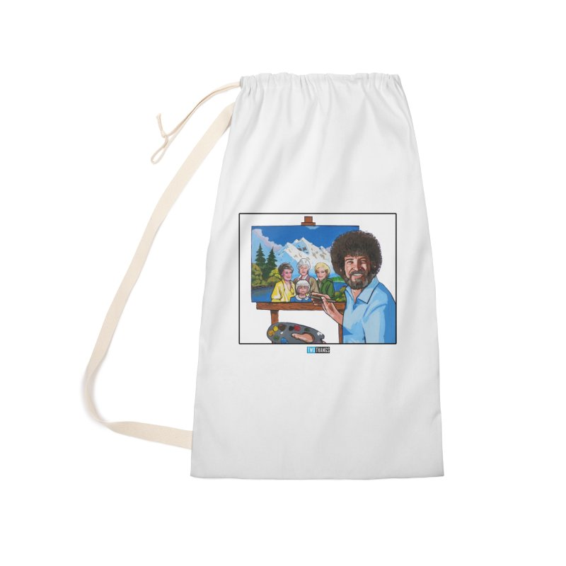 the Golden Girls get their portrait painted Accessories Bag by Two Thangs Artist Shop