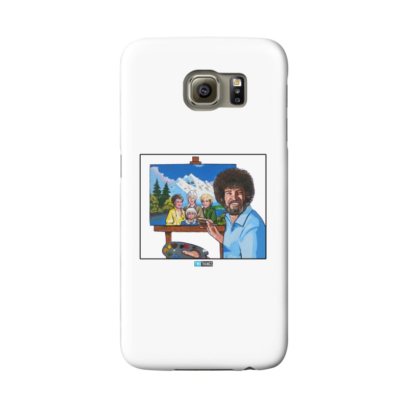 the Golden Girls get their portrait painted Accessories Phone Case by Two Thangs Artist Shop
