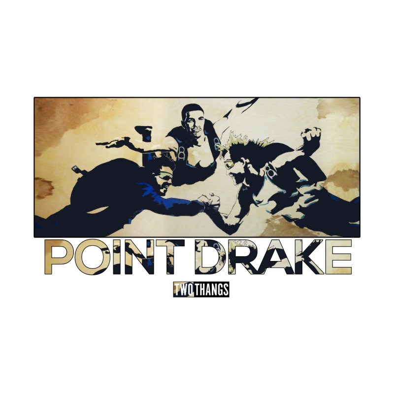 Point Drake Accessories Zip Pouch by Two Thangs Artist Shop