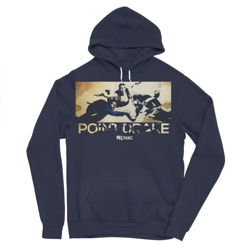 Point Drake Men's Pullover Hoody by Two Thangs Artist Shop