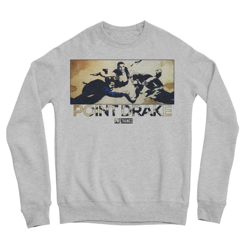 Point Drake Men's Sponge Fleece Sweatshirt by Two Thangs Artist Shop