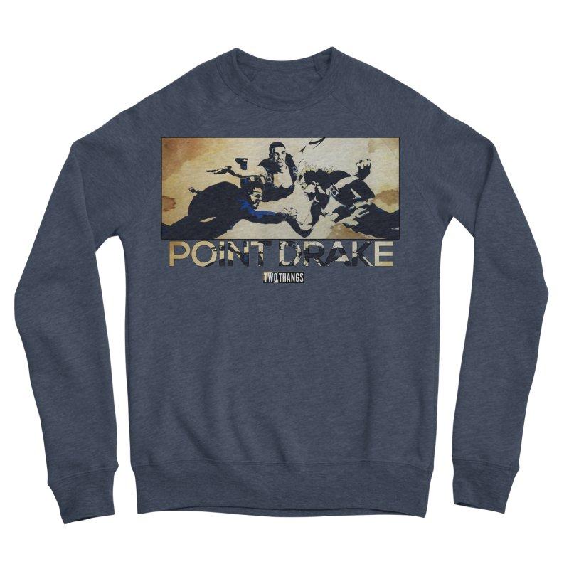 Point Drake Men's Sponge Fleece Sweatshirt by Two Thangs Artist Shop