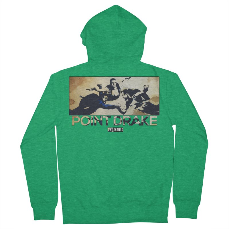 Point Drake Men's Zip-Up Hoody by Two Thangs Artist Shop
