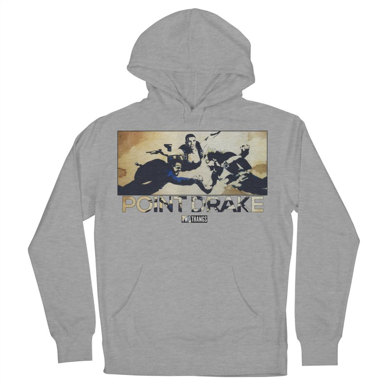 Point Drake Men's French Terry Pullover Hoody by Two Thangs Artist Shop