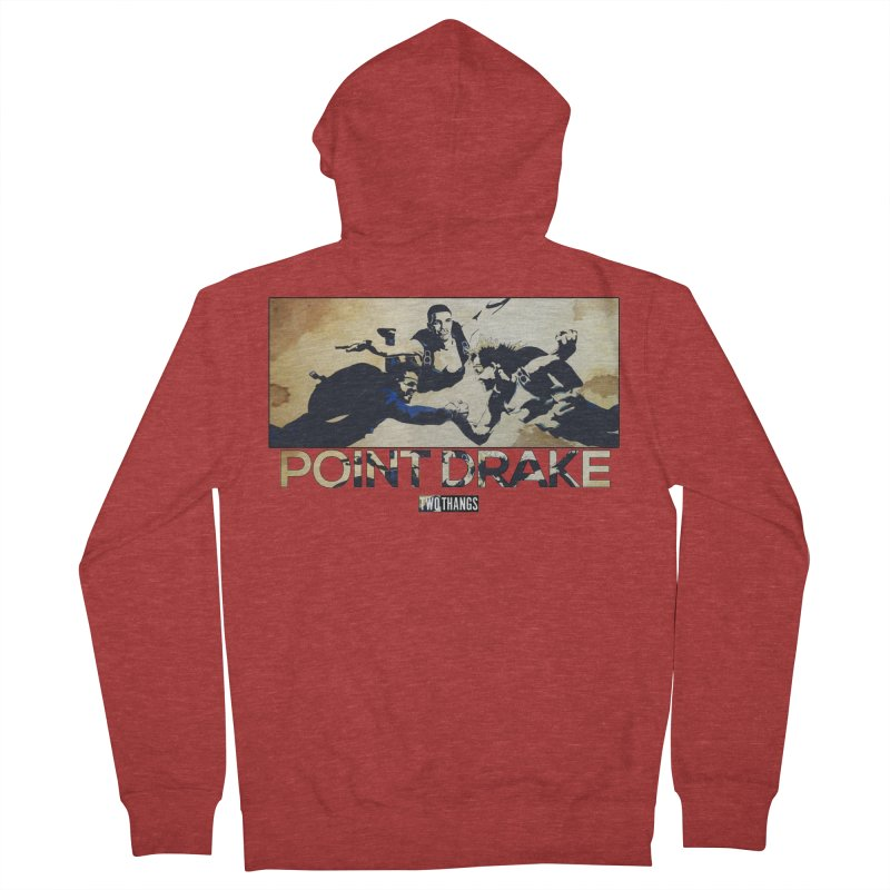 Point Drake Women's Zip-Up Hoody by Two Thangs Artist Shop