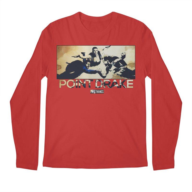 Point Drake Men's Regular Longsleeve T-Shirt by Two Thangs Artist Shop