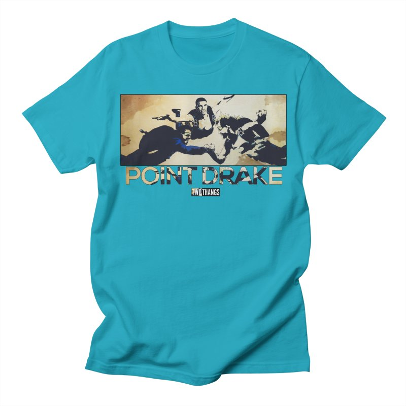 Point Drake Men's Regular T-Shirt by Two Thangs Artist Shop