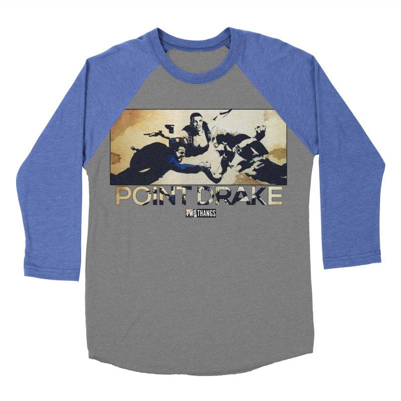 Point Drake Men's Baseball Triblend Longsleeve T-Shirt by Two Thangs Artist Shop