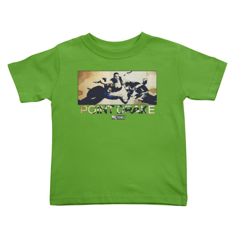 Point Drake Kids Toddler T-Shirt by Two Thangs Artist Shop