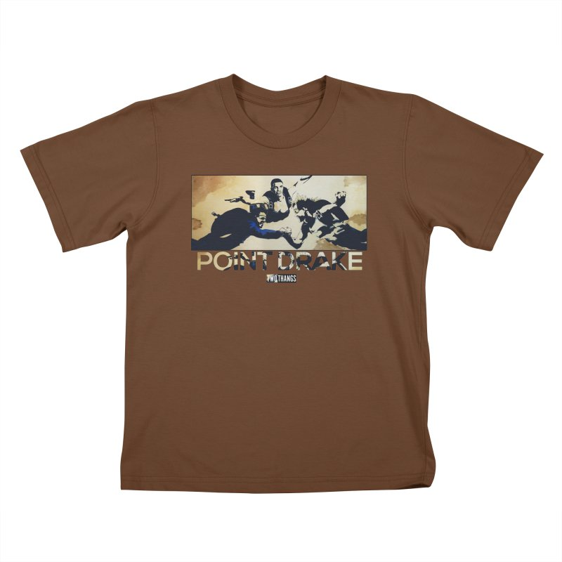 Point Drake Kids T-Shirt by Two Thangs Artist Shop