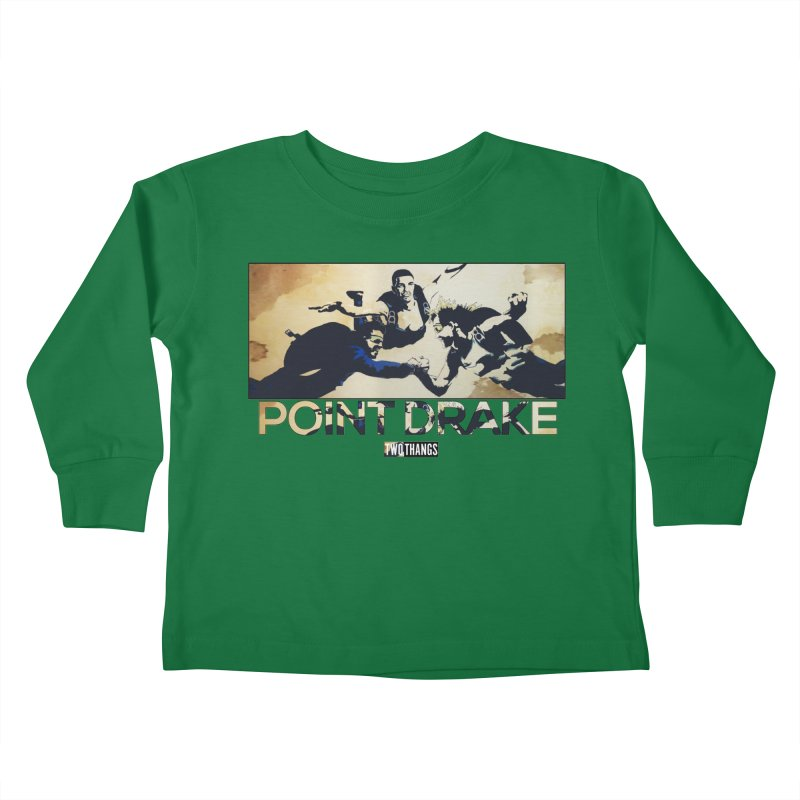 Point Drake Kids Toddler Longsleeve T-Shirt by Two Thangs Artist Shop