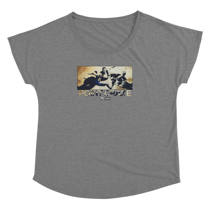 Point Drake Women's Scoop Neck by Two Thangs Artist Shop