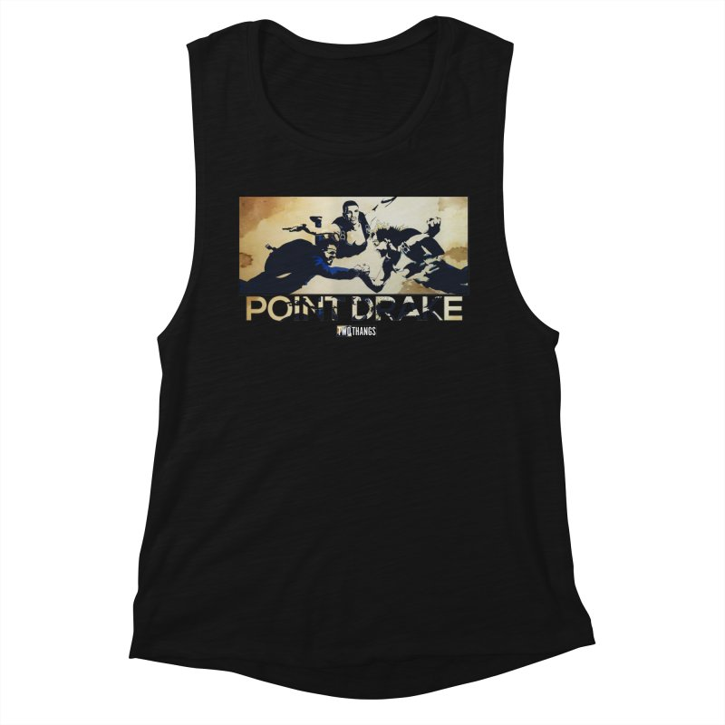 Point Drake Women's Muscle Tank by Two Thangs Artist Shop