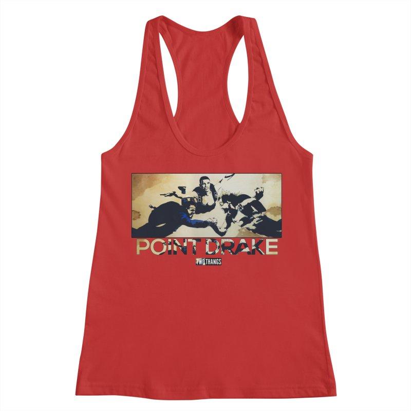 Point Drake Women's Racerback Tank by Two Thangs Artist Shop
