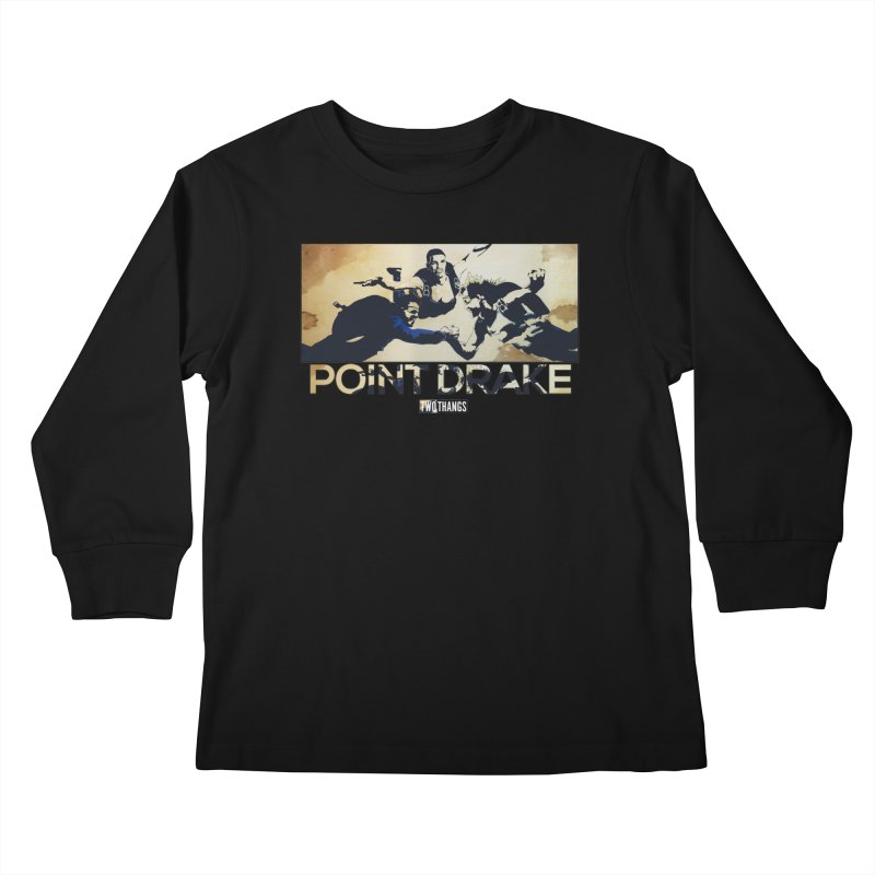 Point Drake Kids Longsleeve T-Shirt by Two Thangs Artist Shop