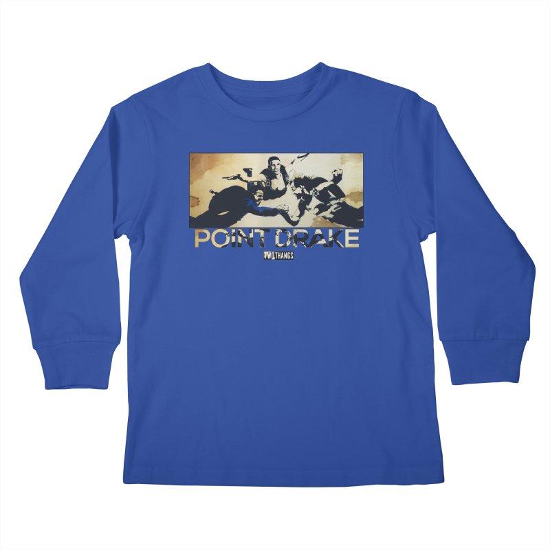 Point Drake Kids Longsleeve T-Shirt by Two Thangs Artist Shop