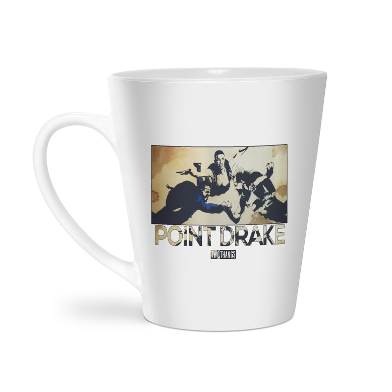Point Drake Accessories Latte Mug by Two Thangs Artist Shop