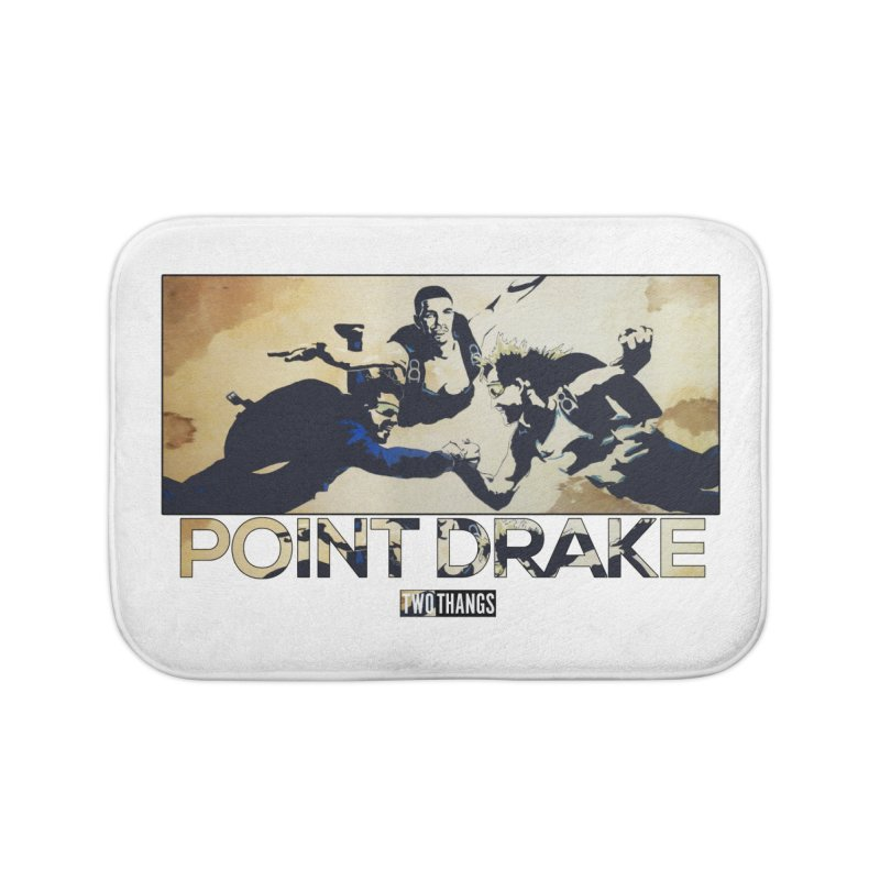 Point Drake Home Bath Mat by Two Thangs Artist Shop