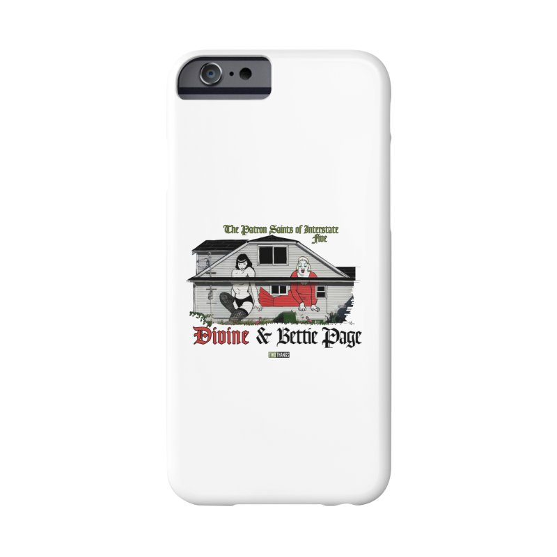 Bettie Page and Divine Accessories Phone Case by Two Thangs Artist Shop