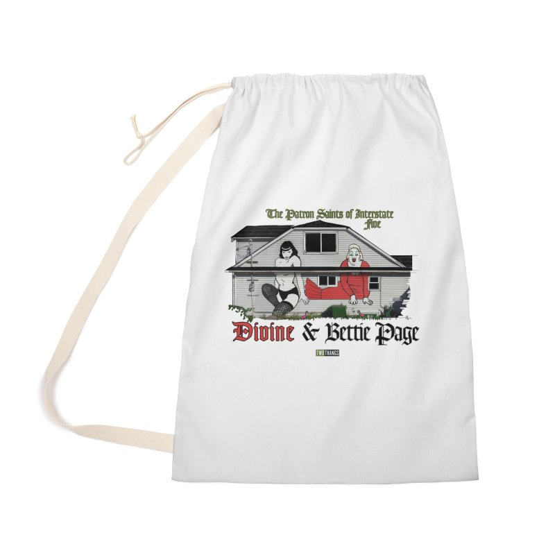 Bettie Page and Divine Accessories Bag by Two Thangs Artist Shop