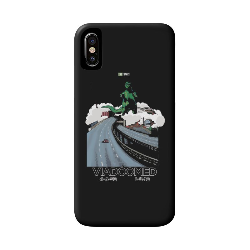 Seattle Viaduct (RIP) / Godzilla Accessories Phone Case by Two Thangs Artist Shop