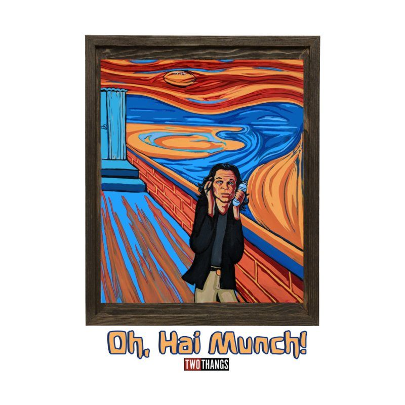"""The Room / The Scream """"Oh, Hai Munch!"""" by Two Thangs Artist Shop"""