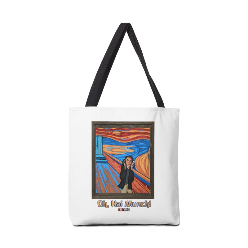 """The Room / The Scream """"Oh, Hai Munch!"""" Accessories Bag by Two Thangs Artist Shop"""