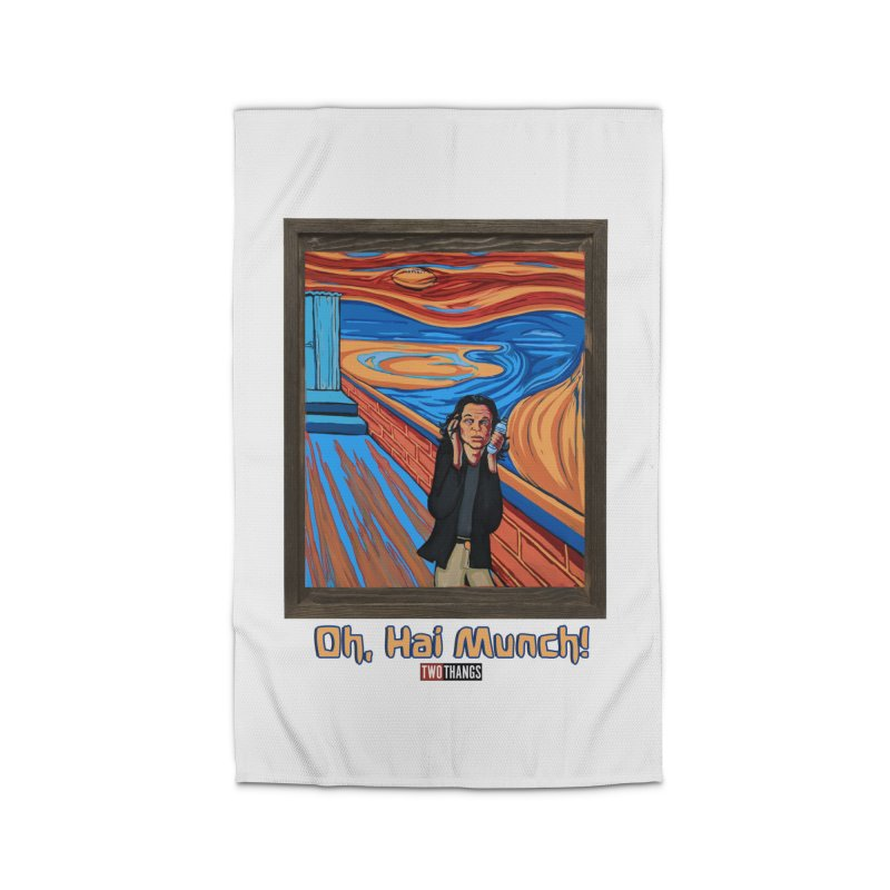 """The Room / The Scream """"Oh, Hai Munch!"""" Home Rug by Two Thangs Artist Shop"""