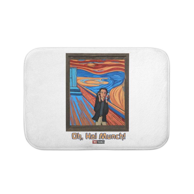"""The Room / The Scream """"Oh, Hai Munch!"""" Home Bath Mat by Two Thangs Artist Shop"""