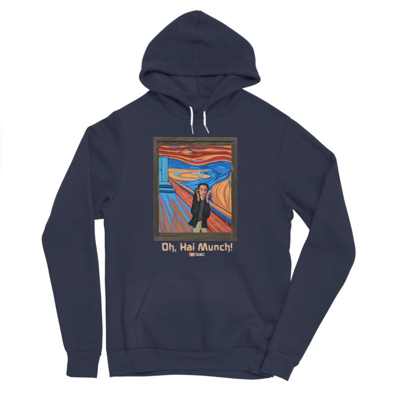 """The Room / The Scream """"Oh, Hai Munch!"""" Men's Sponge Fleece Pullover Hoody by Two Thangs Artist Shop"""