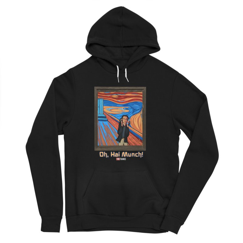 "The Room / The Scream ""Oh, Hai Munch!"" Women's Sponge Fleece Pullover Hoody by Two Thangs Artist Shop"