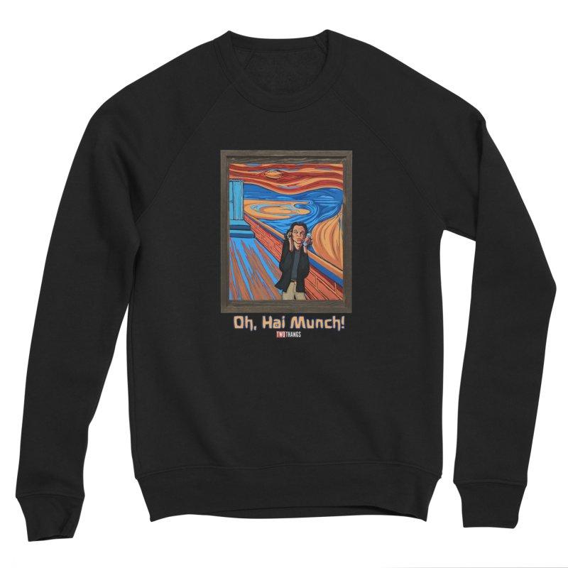"The Room / The Scream ""Oh, Hai Munch!"" Men's Sponge Fleece Sweatshirt by Two Thangs Artist Shop"
