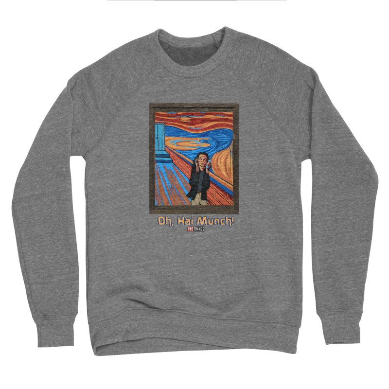 "The Room / The Scream ""Oh, Hai Munch!"" Women's Sponge Fleece Sweatshirt by Two Thangs Artist Shop"
