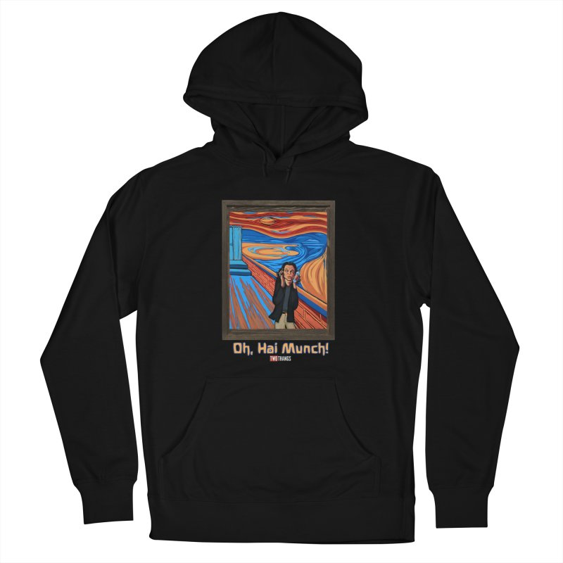 """The Room / The Scream """"Oh, Hai Munch!"""" Women's French Terry Pullover Hoody by Two Thangs Artist Shop"""