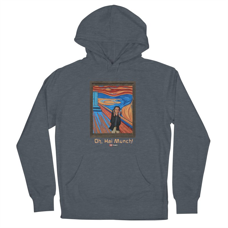 """The Room / The Scream """"Oh, Hai Munch!"""" Men's French Terry Pullover Hoody by Two Thangs Artist Shop"""