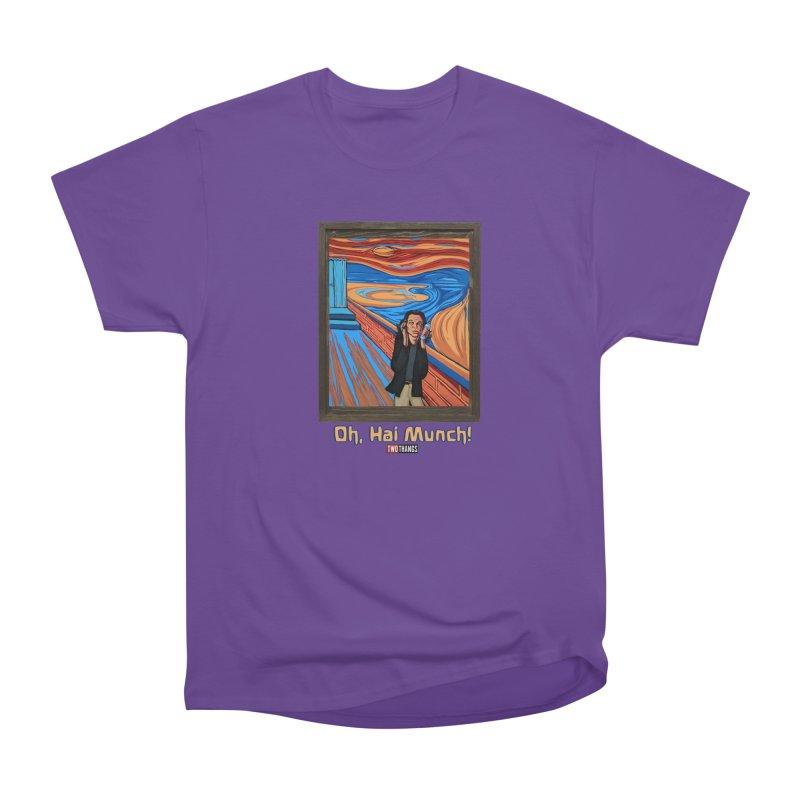 "The Room / The Scream ""Oh, Hai Munch!"" Men's Heavyweight T-Shirt by Two Thangs Artist Shop"