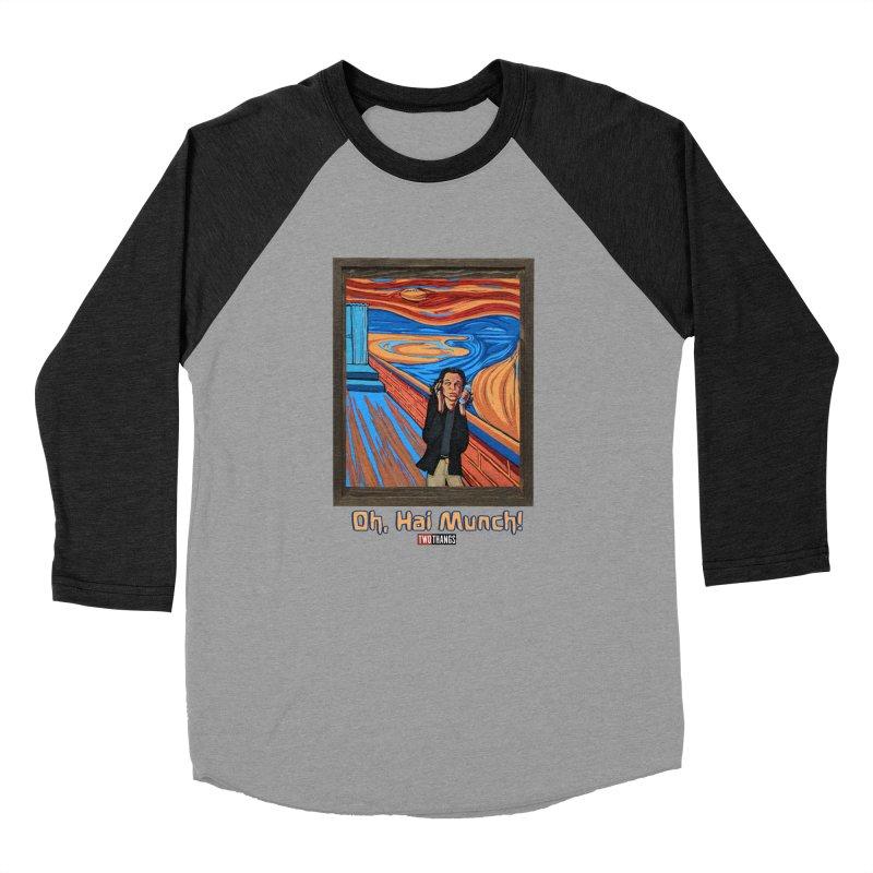 "The Room / The Scream ""Oh, Hai Munch!"" Women's Baseball Triblend Longsleeve T-Shirt by Two Thangs Artist Shop"