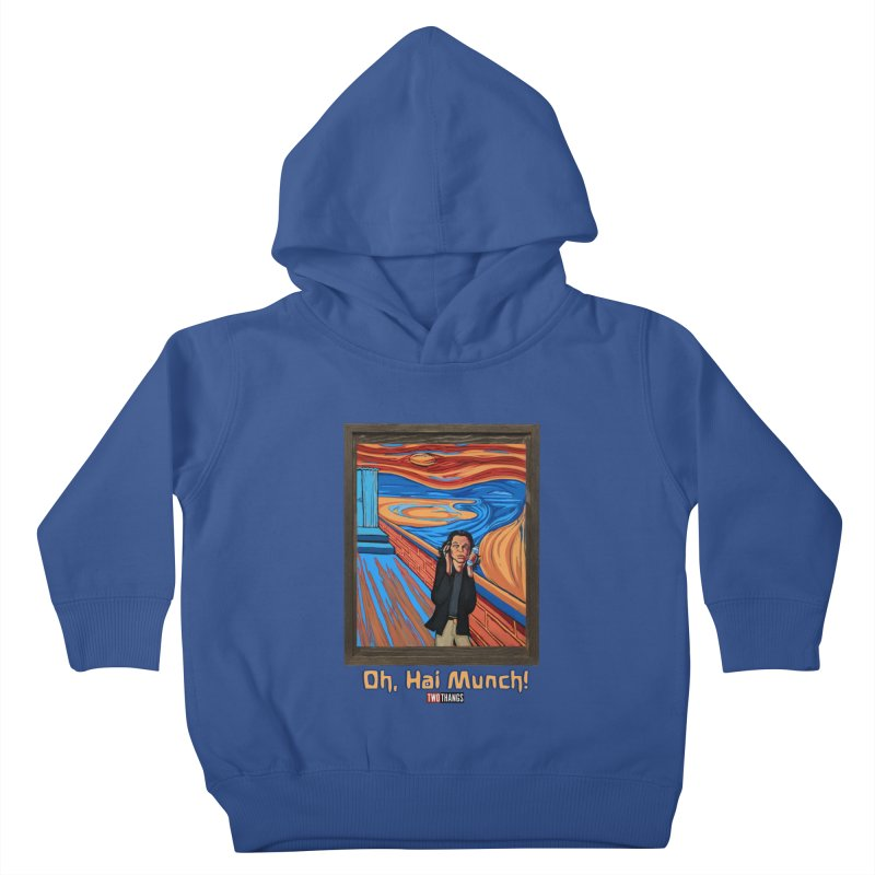 "The Room / The Scream ""Oh, Hai Munch!"" Kids Toddler Pullover Hoody by Two Thangs Artist Shop"