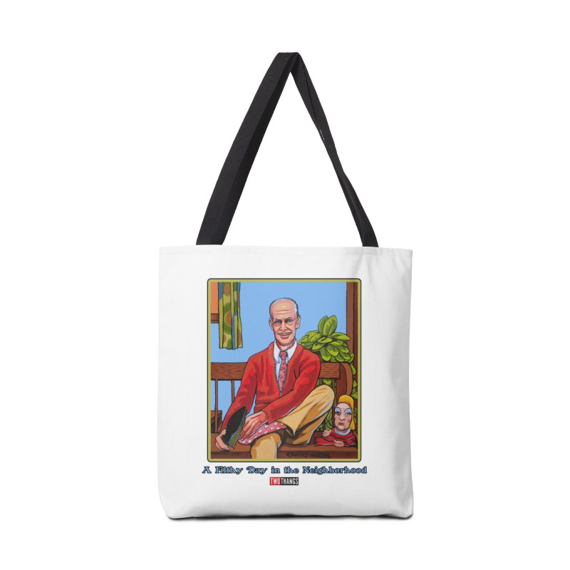 Mr. Waters Filthy Neighborhood Accessories Tote Bag Bag by Two Thangs Artist Shop