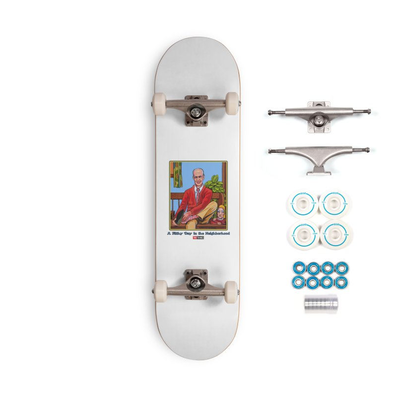 Mr. Waters Filthy Neighborhood Accessories Skateboard by Two Thangs Artist Shop