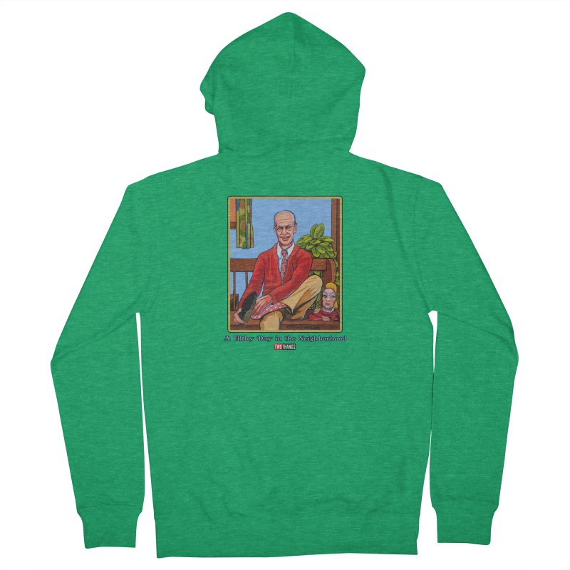 Mr. Waters Filthy Neighborhood Women's Zip-Up Hoody by Two Thangs Artist Shop