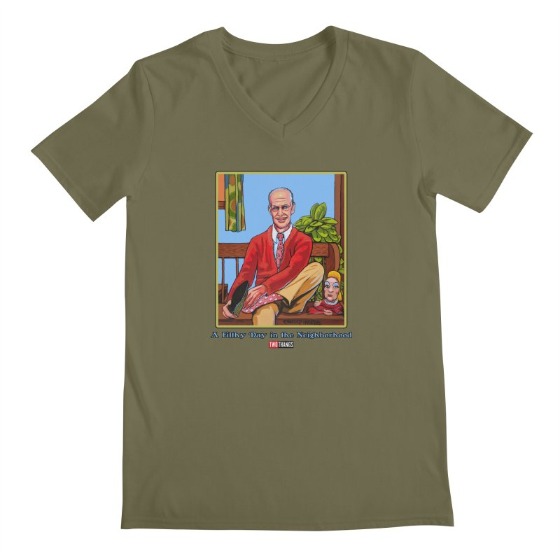 Mr. Waters Filthy Neighborhood Men's Regular V-Neck by Two Thangs Artist Shop