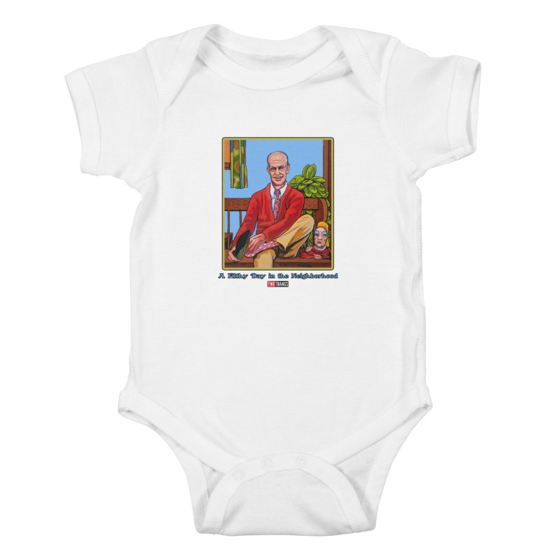 Mr. Waters Filthy Neighborhood Kids Baby Bodysuit by Two Thangs Artist Shop