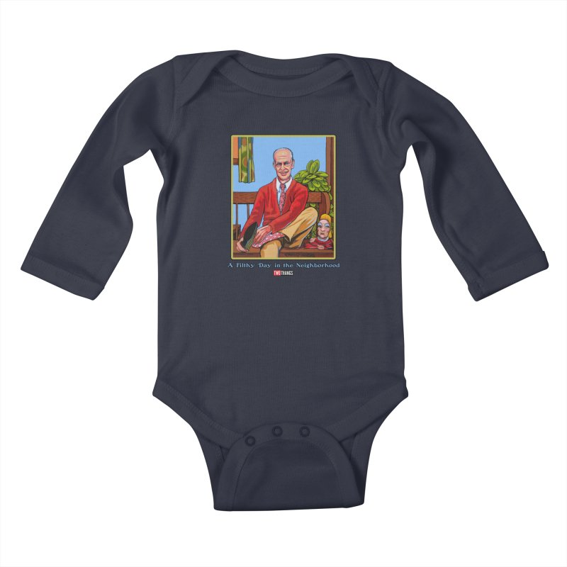 Mr. Waters Filthy Neighborhood Kids Baby Longsleeve Bodysuit by Two Thangs Artist Shop