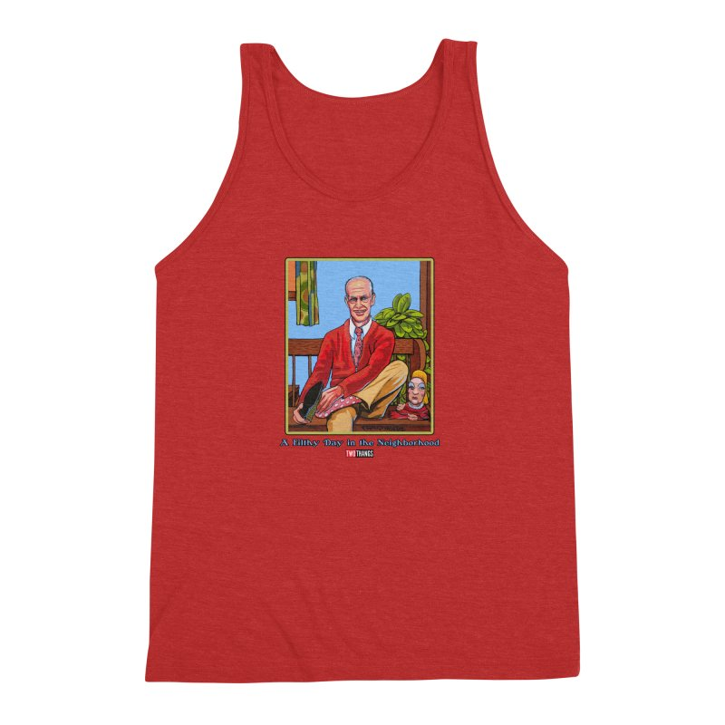 Mr. Waters Filthy Neighborhood Men's Triblend Tank by Two Thangs Artist Shop