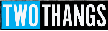 Two Thangs Artist Shop Logo