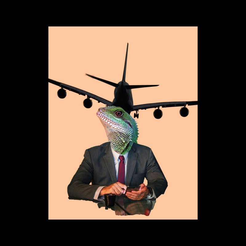 Lizard Agent Home Fine Art Print by TYNICKO Random Randoms Shop
