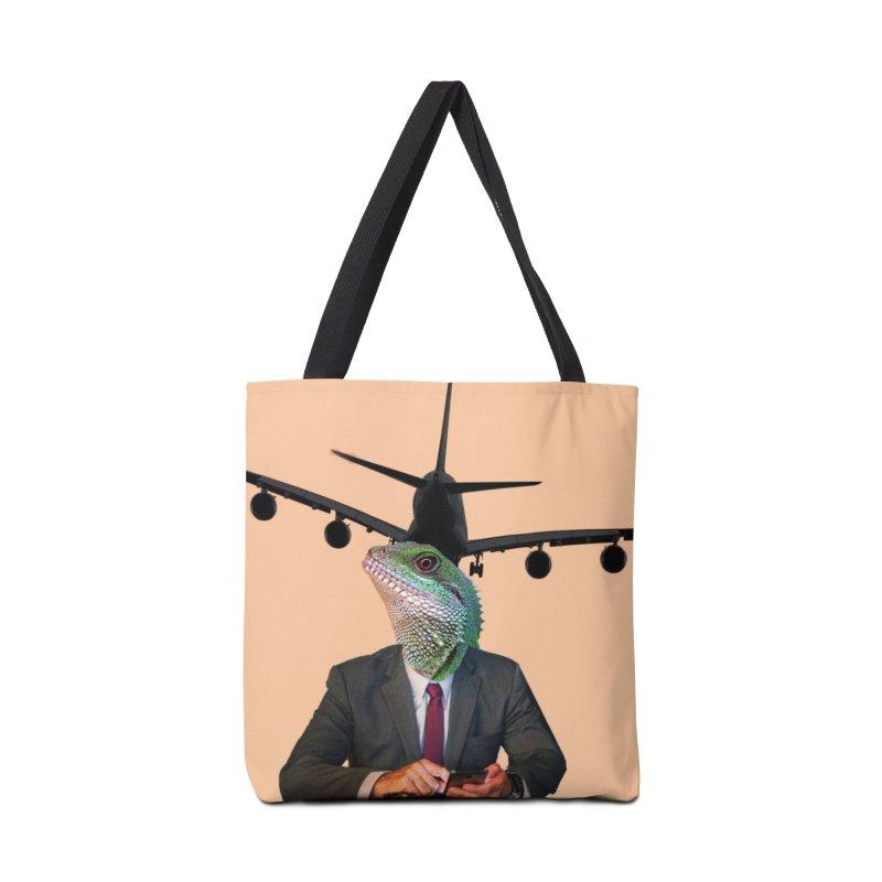 Lizard Agent Accessories Bag by TYNICKO Random Randoms Shop