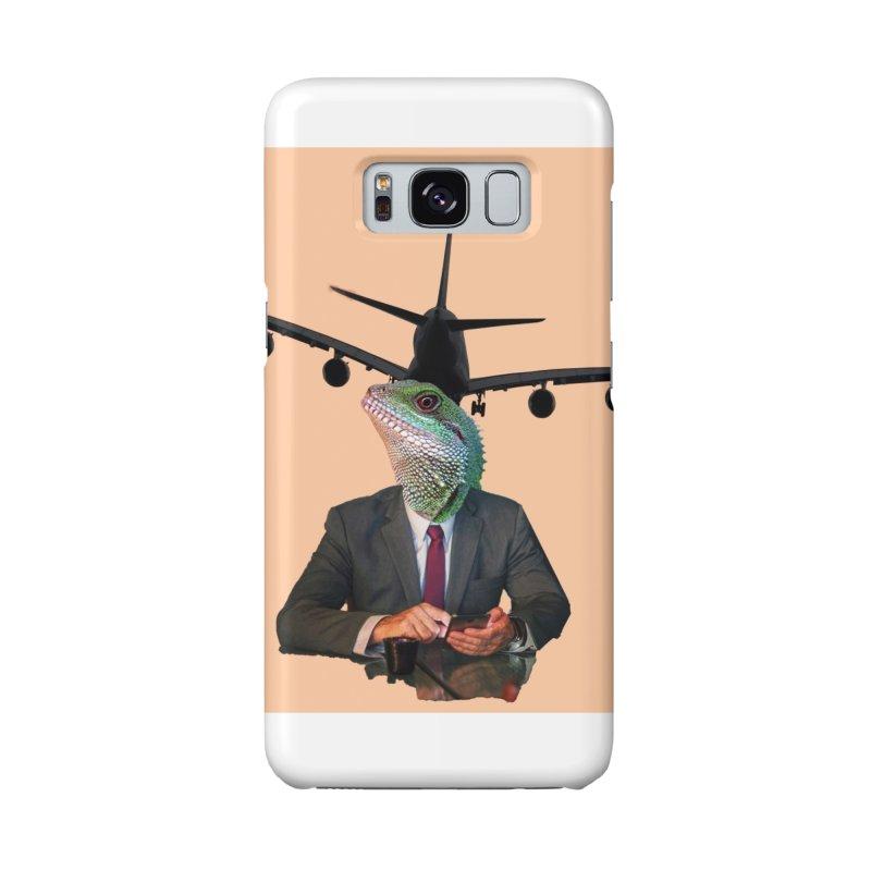 Lizard Agent Accessories Phone Case by TYNICKO Random Randoms Shop